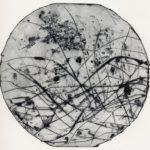 Algues pointe sèche 15x15cm 1994
