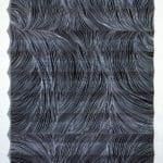 Linogravure pliage collage 107x49cm 2012