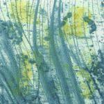 2017 - Sous l'Eau - technique mixte 9,5 x 9,5 cm